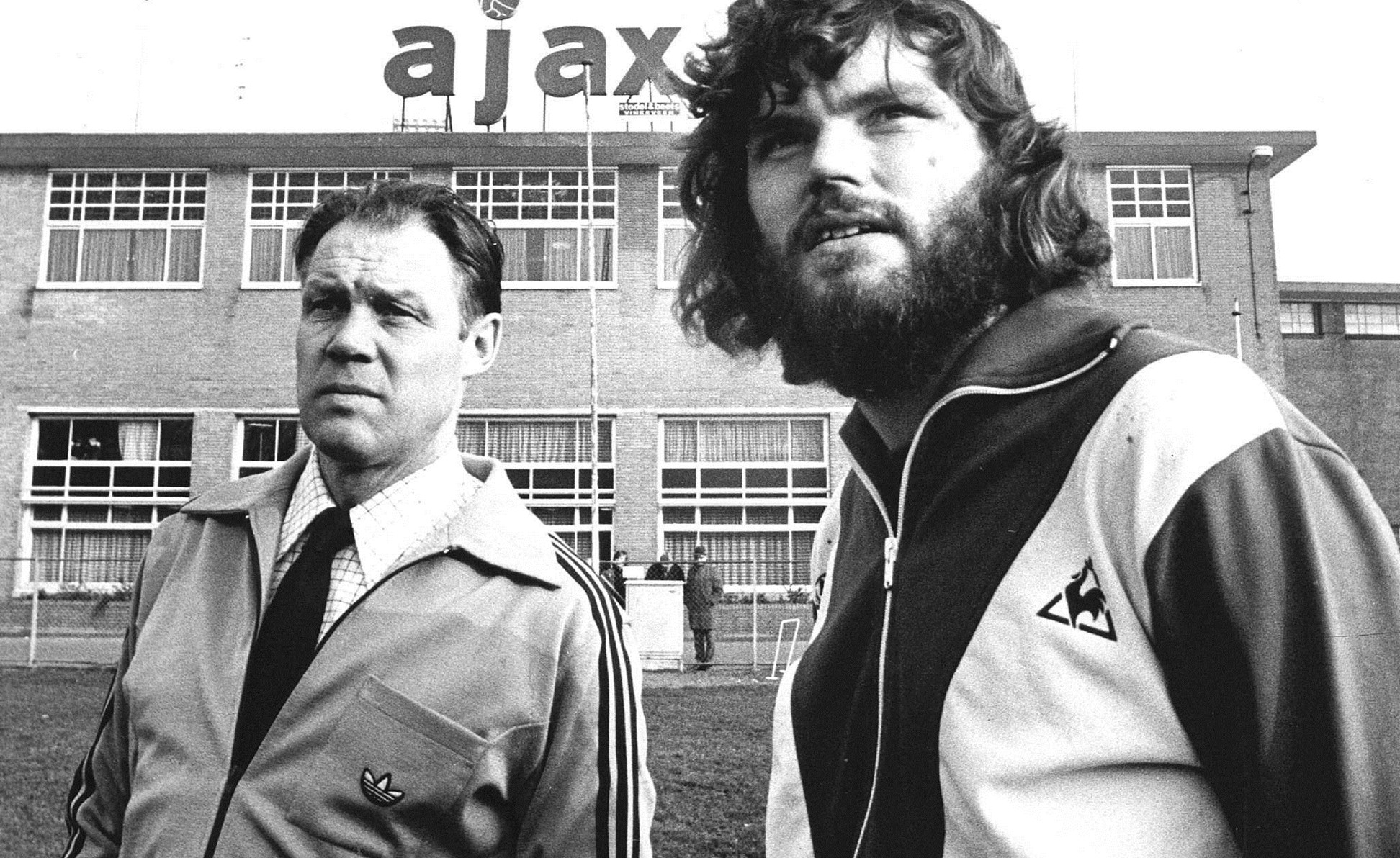 Barry Hulshoff Gritty defender with impressive beard — AjaxDaily