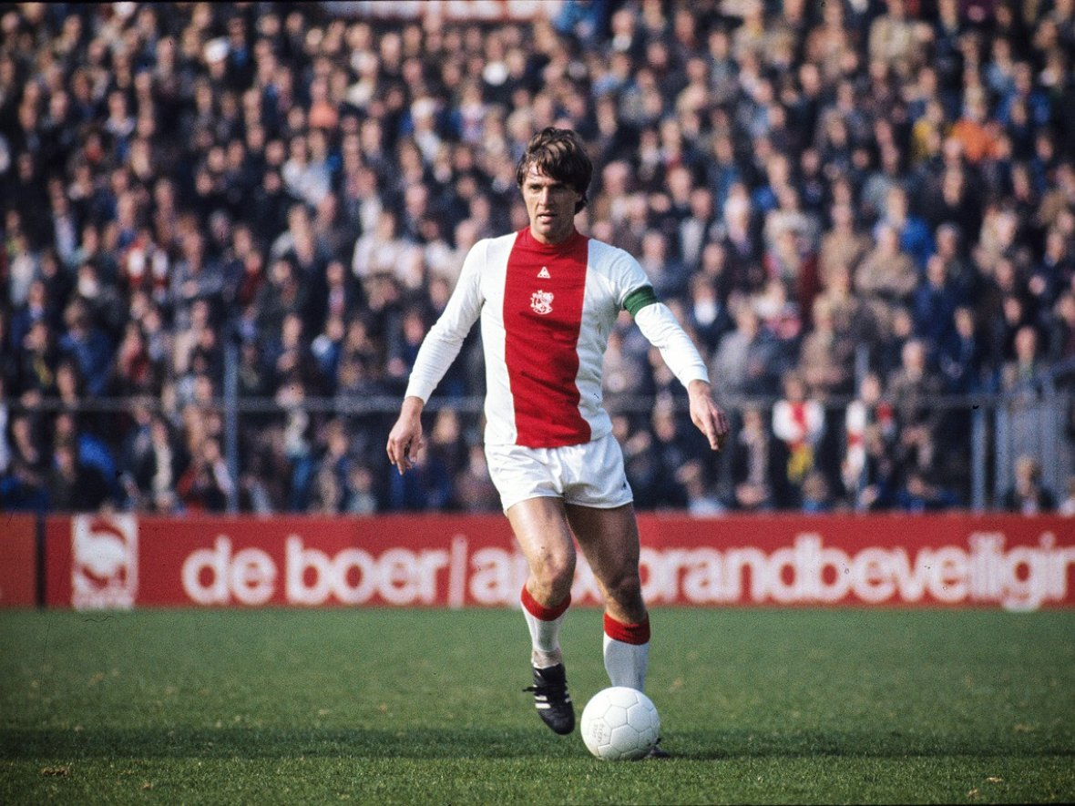 "Ruud Krol – "" e on lads back to the dressing rooms…"" — AjaxDaily"